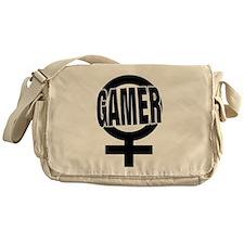 Funny Gender Messenger Bag