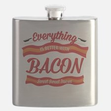 Everything is Better With Bacon Flask