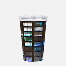 Skyscraper by Night Acrylic Double-wall Tumbler