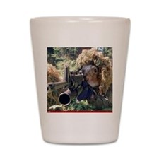 Funny Squirrel Shot Glass