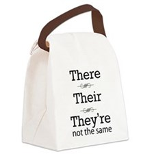 They are not the same Canvas Lunch Bag
