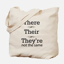 They are not the same Tote Bag