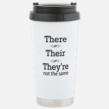 They are not the same Travel Mug