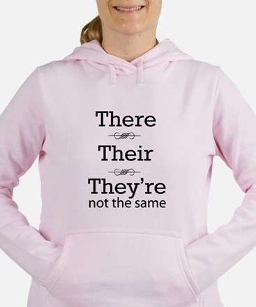 They are not the same Women's Hooded Sweatshirt
