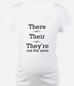 They are not the same Shirt