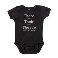 They are not the same Baby Bodysuit