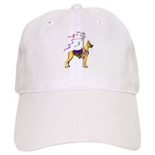 Great Dane Fawn Carousel Baseball Cap