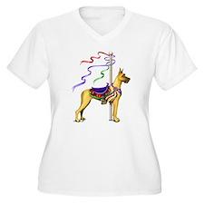 Great Dane Fawn Carousel T-Shirt