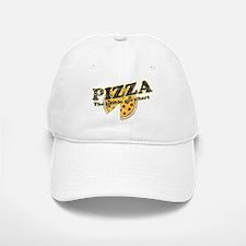 Pizza edible pie chart Baseball Baseball Baseball Cap