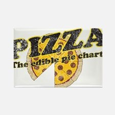 Pizza edible pie chart Magnets