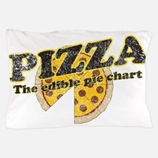 Pizza edible pie chart Pillow Case