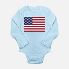United States Of America Flag Body Suit