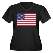 United States Of America Flag Plus Size T-Shirt