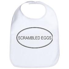 SCRAMBLED EGGS (oval) Bib