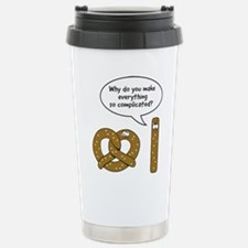 Pretzels complicated Travel Mug