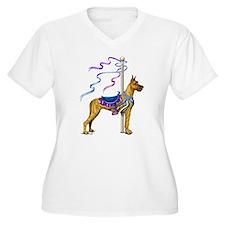 Great Dane Brindle Carousel T-Shirt
