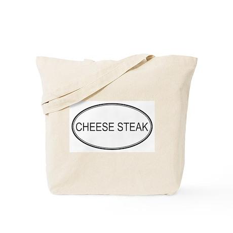CHEESE STEAK (oval) Tote Bag