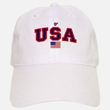 USA Flag Baseball Baseball Cap