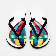 Cute Hot air Flip Flops
