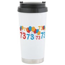 73 years old - 73rd Birthday Travel Mug