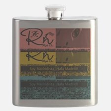 Funny Real madrid Flask