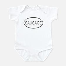 SAUSAGE (oval) Infant Bodysuit