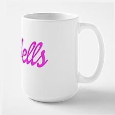 Barbell Babe Large Mug