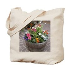 Courtyard Color Tote Bag