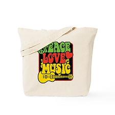 Cool Rasta colors Tote Bag