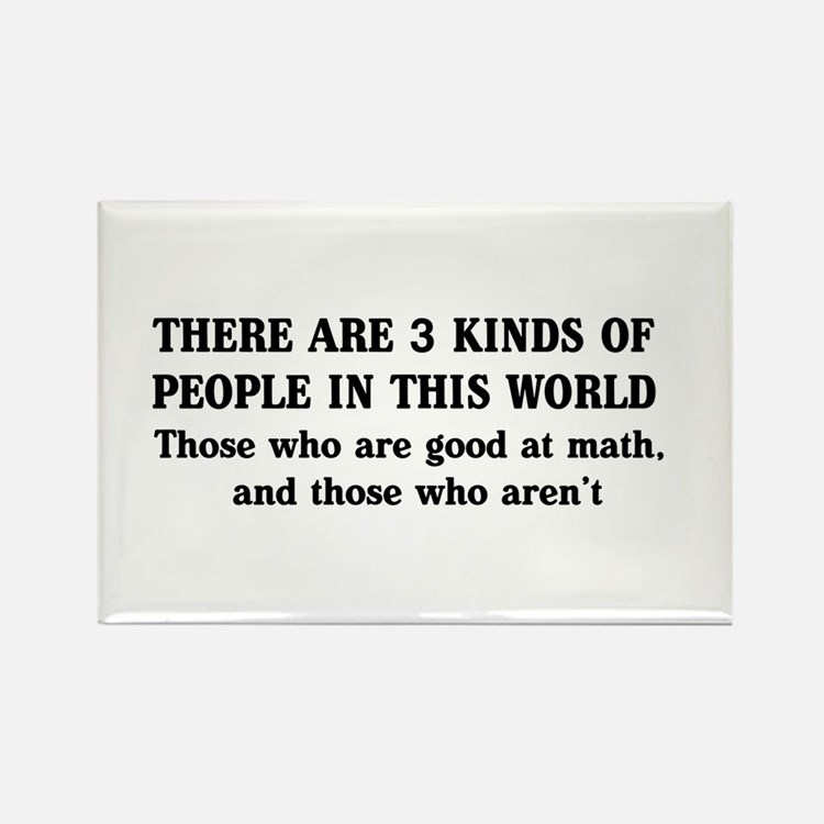 3 kinds of people Magnets
