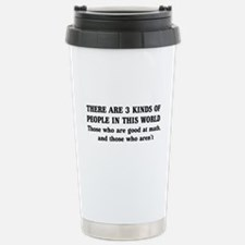 3 kinds of people Travel Mug