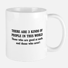 3 kinds of people Mugs