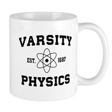 Varsity physics Mugs