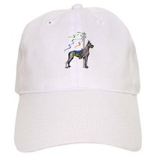 Great Dane Black Carousel Baseball Cap