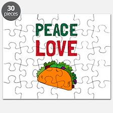 Peace Love Taco Puzzle