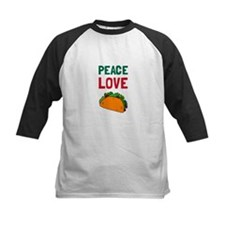 Peace Love Taco Baseball Jersey