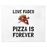 Pizza comforter King Duvet Covers
