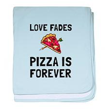 Pizza Forever baby blanket
