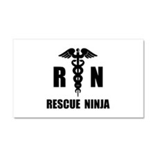 Rescue Ninja Car Magnet 20 x 12