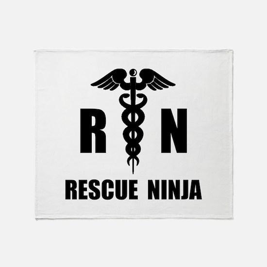 Rescue Ninja Throw Blanket
