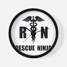 Rescue Ninja Wall Clock