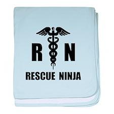 Rescue Ninja baby blanket
