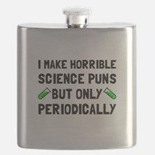 Science Puns Periodically Flask