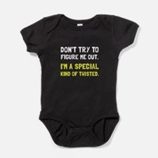 Special Twisted Baby Bodysuit