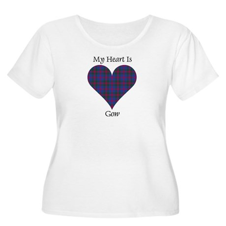 Heart - Gow Women's Plus Size Scoop Neck T-Shirt