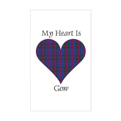 Heart - Gow Sticker (Rectangle)
