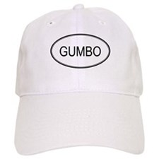 GUMBO (oval) Baseball Cap