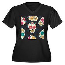Dia de los Muertos Plus Size T-Shirt