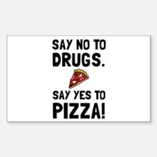 Yes To Pizza Decal