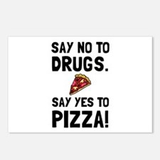 Yes To Pizza Postcards (Package of 8)